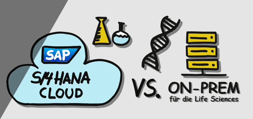Webinar about SAP S/4HANA Cloud vs. On-Premise for the Life Sciences