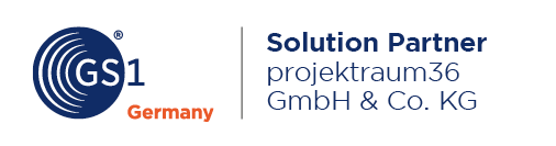 projektraum36 is now solution partner of GS1 Germany