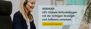 Webinar about UDI with DHC